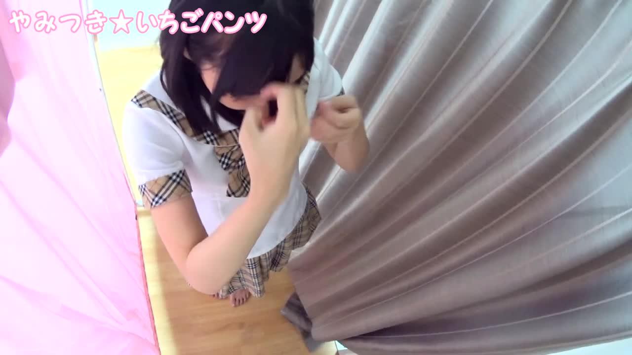 素人パンチラ in 個人撮影会 vol.001 アキバ系制服モデル みくちゃん
